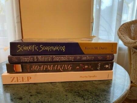 Boeken over zelf zeep maken